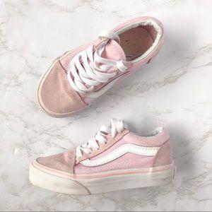 Vans Old Skool Suede and Canvas Pink